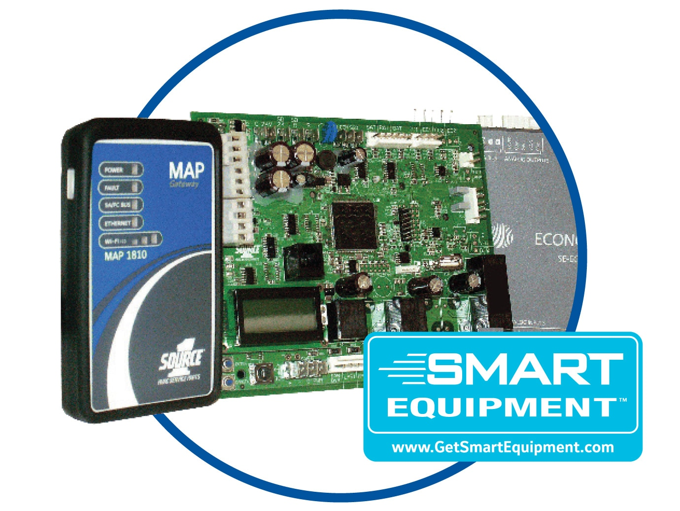 Smart Equipment control board and components for YORK packaged rooftop unit