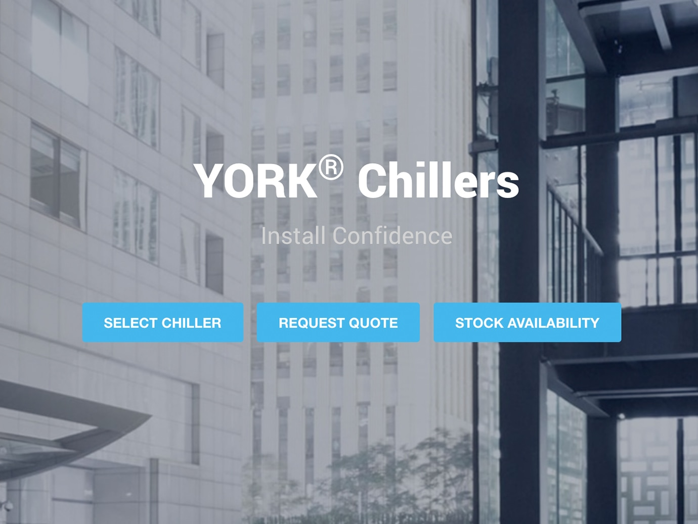 YORK® Mobile Selection Tool