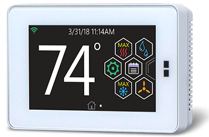 Hx 3 Touch Screen Thermostat
